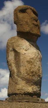 Chile Steinfiguren