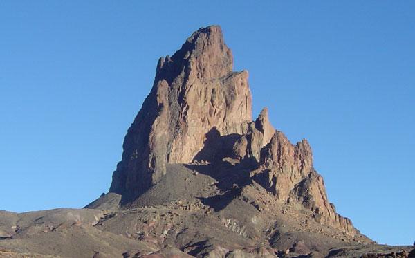 Foto von el capitán agathla peak